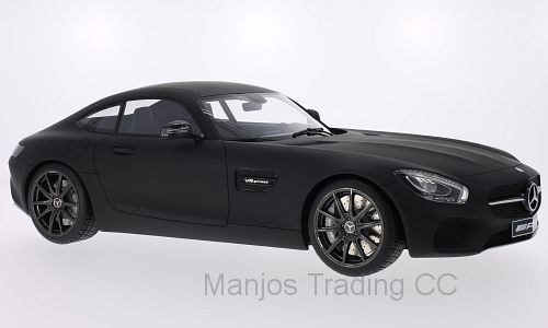 PCL40026 - MERCEDES AMG GT 2015 MATT BLACK