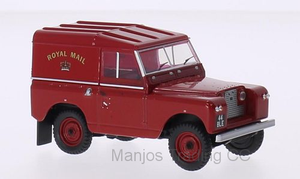 43LR2S001 - LAND ROVER SERIES II SWB HARD BACK ROYAL MAIL