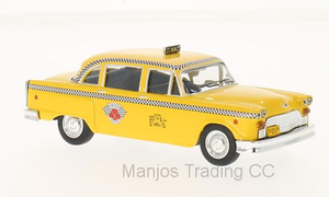 WB194 - 1963 CHECKER MARATHON NEW YORK TAXI