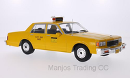 MCG18038 - 1985 CHEVROLET CAPRICE CLASSIC SEDAN YELLOW NYC TAXI