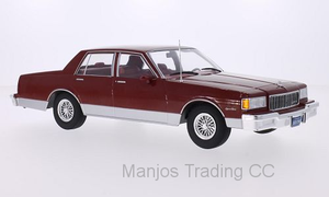 MCG18040 - 1985 CHEVROLET CAPRICE CLASSIC SEDAN RED