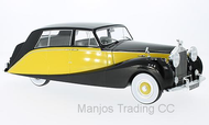 MCG18066 - ROLLS ROYCE SILVER WRAITH EXPRESS BY HOOPER 1956 BLACK/YELLOW