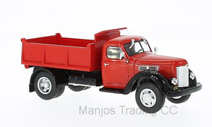 WB223 - INTERNATIONAL HARVESTER KB-7 TIPPER RED