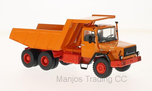 PCL47021 - MAGIRUS 290D (DUMPER) ORANGE