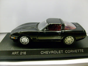 DET216 - CHEV CORVETTE 1993 COUPE BLACK