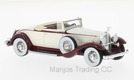1932 PACKARD 902 STANDARD EIGHT CONVERTIBLE WHITE/RED
