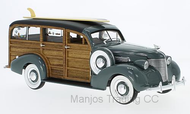 1939 CHEVROLET WOODY SURF WAGON GREEN