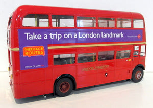 SUN2918 - ROUTEMASTER RM BUS RED