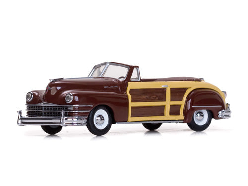 VIT36220 - 1947 CHRYSLER TOWN & COUNTRY BROWN