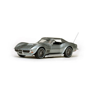 VIT36246 - 1968 CORVETTE COUPE SILVER