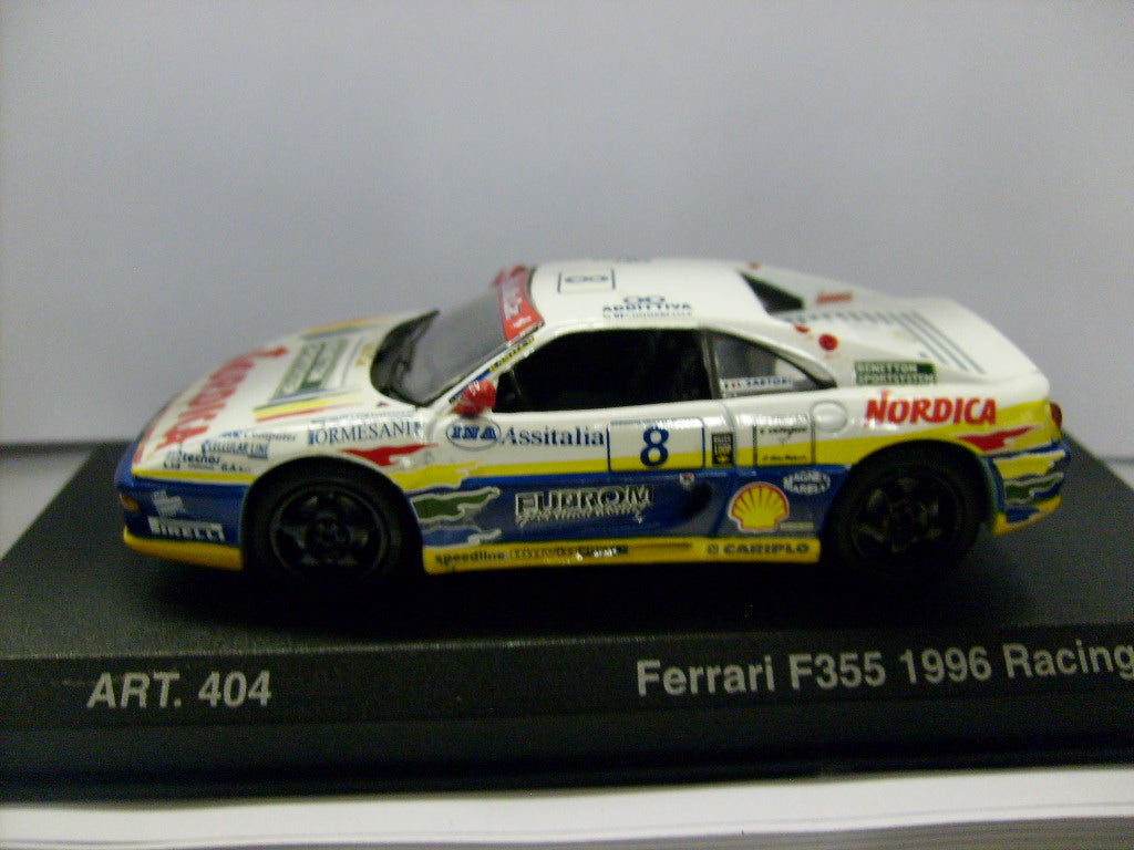 DET404 - FERRARI F355 1995 COUPE WHITE #8