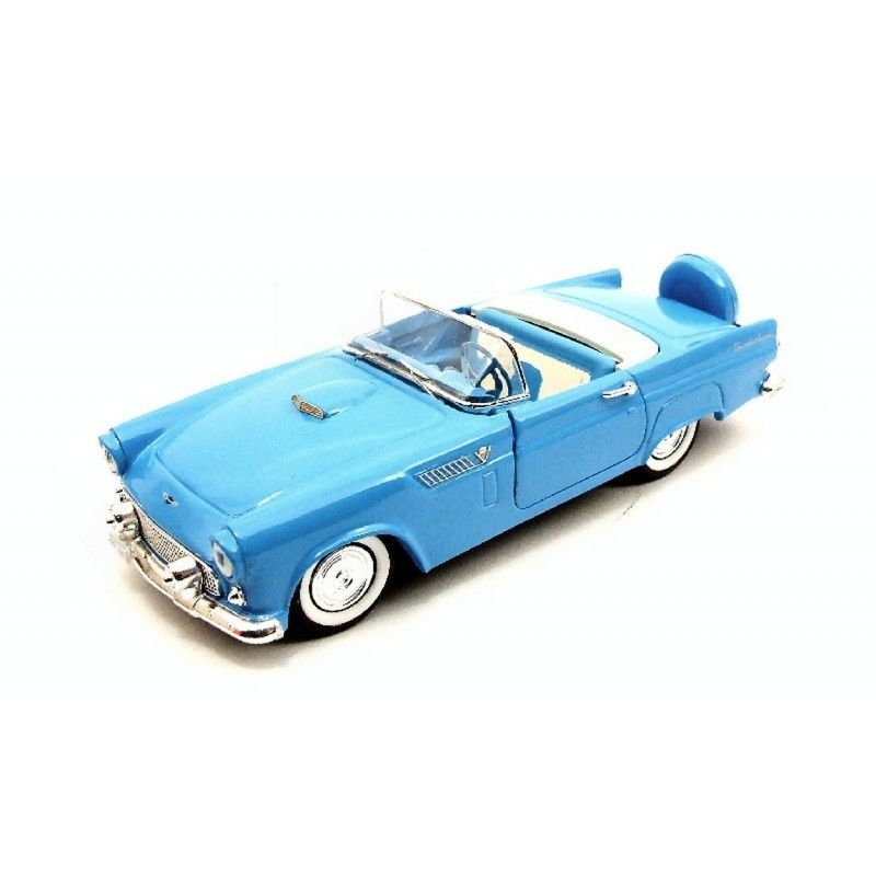 RIO4325 - FORD THUNDERBIRD SPIDER 1956 LIGHT BLUE