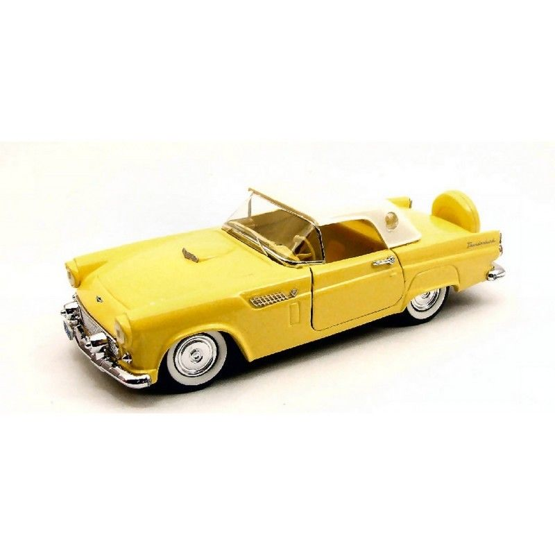 RIO4328 - FORD THUNDERBIRD HARD TOP 1956 YELLOW