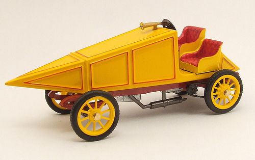 RIO4329 - LAND SPEED RECORD: GENERAL 40HP GRAND PRIX 1902 YELLOW