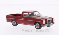 BOS43430 - MERCEDES 220D BINZ (W115) PICK UP RED
