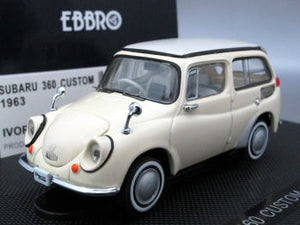EBB43625 - SUBARU 360 CUSTOM WAGON WHITE 1963