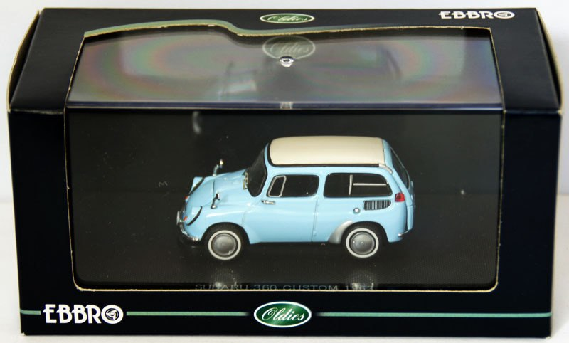 EBB43626 - SUBARU 360 CUSTOM WAGON BLUE 1963