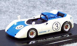 EBB43664 - TOYOTA 7 1969 JAPAN GP WHITE/BLUE