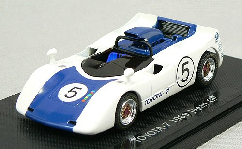EBB43665 - TOYOTA 7 1969 JAPAN GP WHITE/DARK BLUE