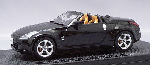 EBB43790 - NISSAN FAIRLADY Z ROADSTER 05 BLACK