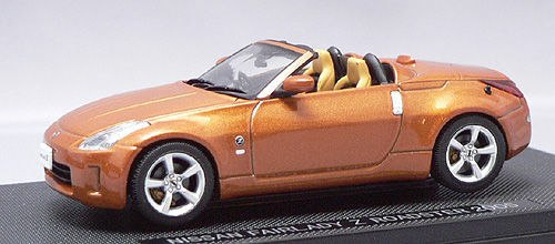 EBB43791 - NISSAN FAIRLADY Z ROADSTER 05 METALLIC ORANGE