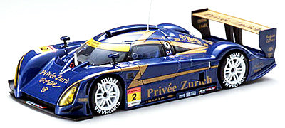 EBB43821 - SHIDEN SUPER GT300 '06 #2 PRIVEE ZURICH METALLIC BLUE