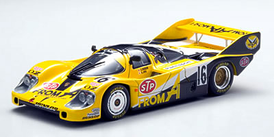 EBB43890 - PORSCHE 956 WEC JAPAN 84 FROMA FUJI 1000km YELLOW / BLACK
