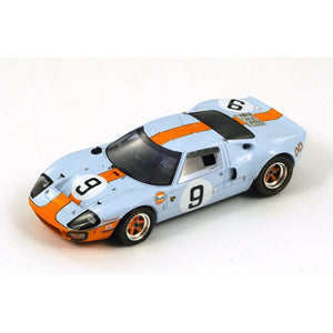 43LM68 - FORD GT 40 #9 WINNER LE MANS 1968 '40 YEARS' P.RODRIGUEZ-L.BIANCHI