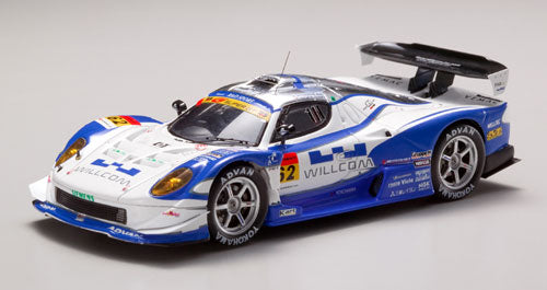 EBB44067 - WILLCOM ADVAN VEMAC 408R SUPER GT300 2008 #62 (RESIN) WHITE/BLUE