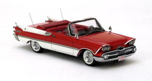 NEO44091 - DODGE CUSTOM ROYAL LANCER CONVERTIBLE RED/WHITE