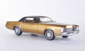 NEO44109 - 1968 CADILLAC ELDORADO 2 DOOR COUPE GOLD WITH BLACK ROOF
