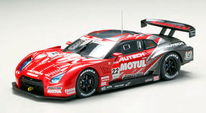 EBB44128 - MOTUL AUTECH GT-R LOW-DOWN FORCE FUJI SUPER GT500 2008 #22 RED/SILVER