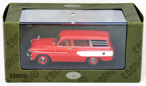 EBB44340 - TOYOPET MASTERLINE LIGHT VAN 1959 RED