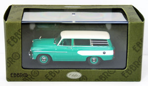 EBB44342 - TOYOPET MASTERLINE LIGHT VAN 1959 LIGHT GREEN