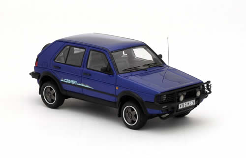 NEO44376 - VOLKSWAGEN GOLF II COUNTRY BLUE