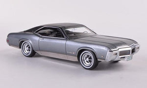 NEO44426- 1969 BUICK RIVIERA GS GREY/BLACK ROOF