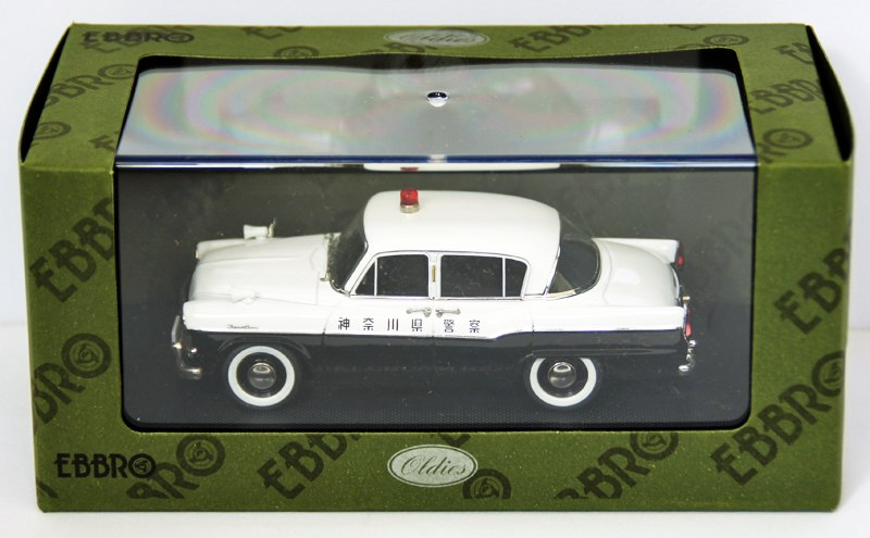EBB44566 - TOYOPET CROWN RS21 JAPAN POLICE CAR WHITE/BLACK