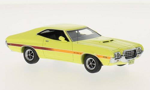 NEO44741 - 1972 FORD GRAN TORINO COUPE SPORT YELLOW