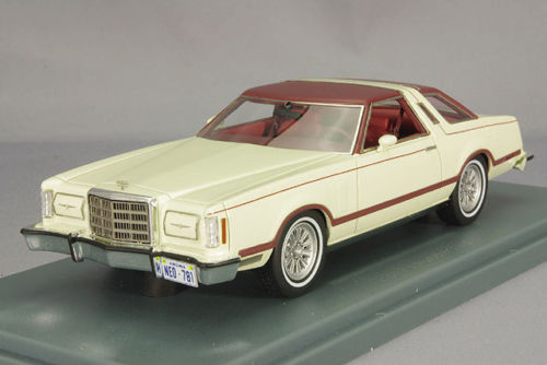 NEO44781 - FORD THUNDERBIRD CREAM/BROWN