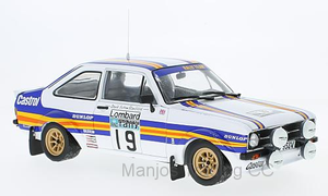 SUN4497 - FORD ESCORT RS1800 #19 T.MAKINEN/M.HOLMES RAC RALLY 1980