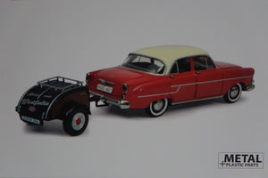 450264000 - OPEL KAPITAEN + TRAILER
