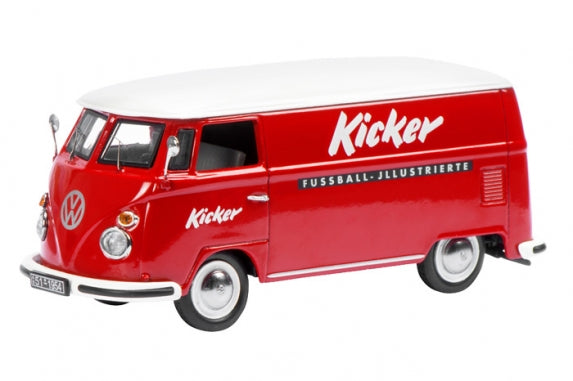 450369200 - VOLKSWAGEN T1 KICKER RED WITH WHITE ROOF