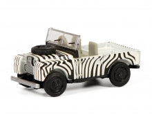 452651700 - LAND ROVER 88 SAFARI ZEBRA LIVERY