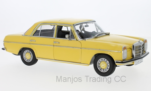 SUN4572 - 1968 MERCEDES-BENZ STRICH 8 SALOON YELLOW