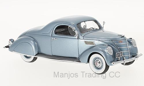 NEO45752 - LINCOLN ZEPHYR COUPE LIGHT BLUE 1937