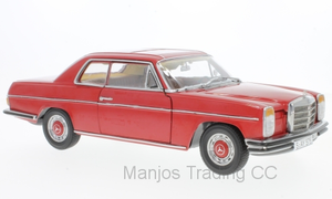 SUN4575 - 1973 MERCEDES-BENZ STRICH 8 COUPE RED