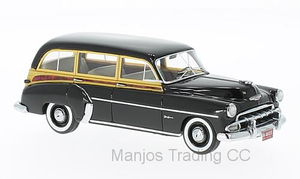 NEO46435 - CHEVROLET STYLELINE DELUXE STATION WAGON BLACK/WOOD OPTICS 1952