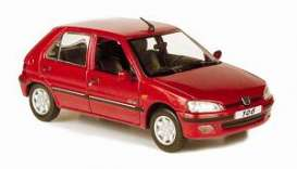 NOR471060 - PEUGEOT 106 CITADINE 5 DOORS RED LUCIFER 2002