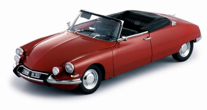SUN4741 - CITROEN DS19 OPEN CONVERTIBLE - RED