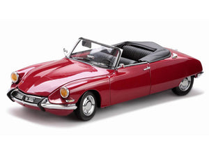 SUN4744 - CITROEN DS19 OPEN CONVERTIBLE DARK RED